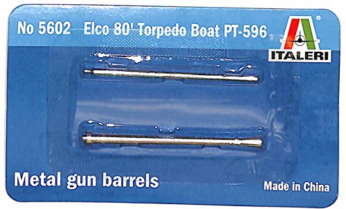ITA5602GB 1:35 Italeri Gun Barrels for PT-596 Elco 80' Torpedo Boat (for use with the Italeri kit) (Boat Pt Elco)