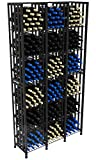 VintageView Case & Crate Metal Wine Rack - Full Height - Capacity 288 Bottles
