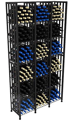 VintageView Case & Crate Metal Wine Rack - Full Height - Capacity 288 Bottles by VintageView