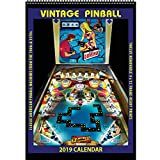 Vintage Pinball 2019 Calendar: Classic American Pinball Machines