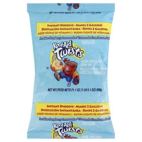 Kool-Aid Twist Blue Raspberry Lemonade 15 Case 2 Gallon (Kool Aid Twists Ice Blue Raspberry Lemonade)