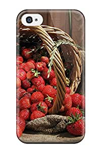 Mark Gsellman Andrews's Shop Best Hot Case Cover Protector For Iphone 4/4s- Strawberry Fruits 2803395K50581595
