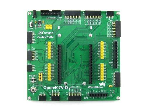 Waveshare Open407V-D Standard STM32 Board STM32F407VGT6 Cortex-M4 ARM STM32 Development Board without STM32F4DISCOVERY