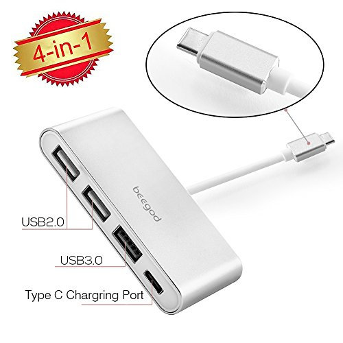 beegod Multiport Converter ChromeBook Charging