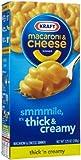 Kraft Macaroni & Cheese Dinner Premium Thick 'n Creamy - 24 Pack