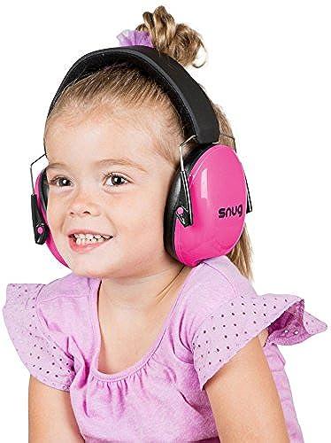 Kids Hearing Protection Ear Muffs Adjustable Headband Ear Defenders Pink