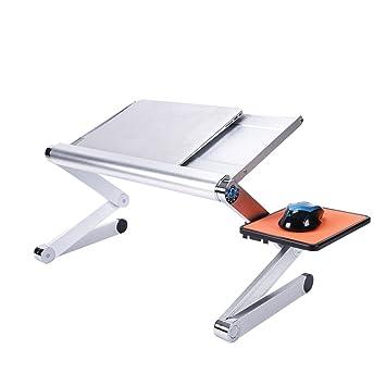DS Ⓡ Escritorio del ordenador portátil, cama con el dormitorio plegable grande plegable de aluminio
