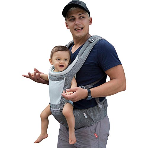 Buy DaDa Airflow 360 Ergonomic Baby Carrier with Hip seat for Infants and Toddler, 7 comfortable & s...