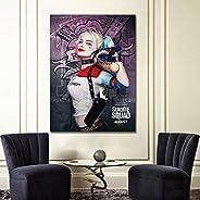Póster de Harley Quinn sin marco para decoración del hogar, 8x12inch