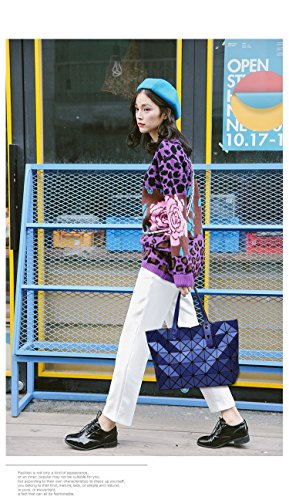 Bag Vertical Geometric Style Women White Colors Plaid Brand Shoulder Matt 7 Bag Surface xqYOwd