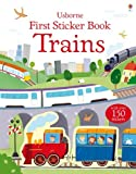 First Sticker Book Trains, Sam Taplin, 0794533515