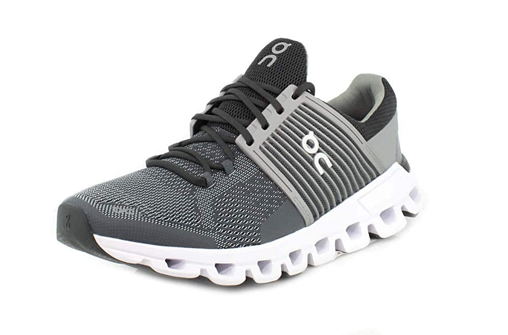 On-Running Mens Cloudswift Rock Slate Running Shoe – 11