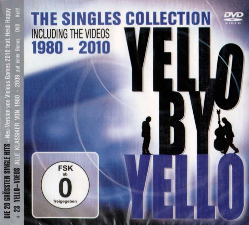 Yello - Yello By Yello The Singles Collection Including The Videos 1980 - 2010 Cddvd Set - Zortam Music