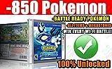 Pokemon Alpha Sapphire Unlocked, 850 Pre-Loaded Battle Ready Pokemon!