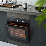 """COSTWAY 24"""" Built-In Single Wall Oven Electric 2.5"""