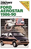 Ford Aerostar, 1986-90 (Chilton's Repair Manual)