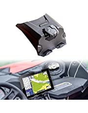 Black Electronic Device Tablet Phone Holder fit for Can-Am Maverick X3 2017-2020 Maverick X3 Electronic Device Mounts with Storage Box Organizer Tray
