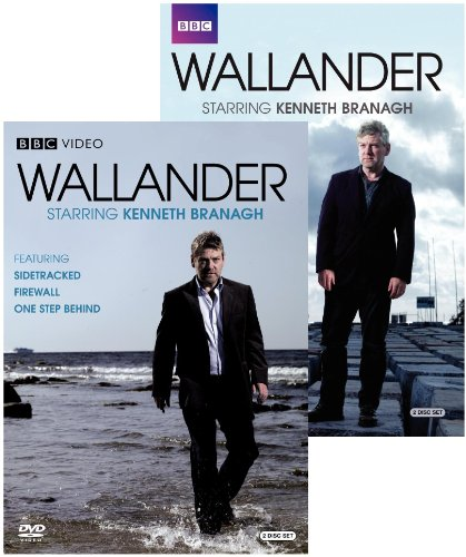 Wallander Collection (Sidetracked / Firewall / One Step Behind / Faceless Killers / The Man Who Smiled / The Fifth - Firewall Womens