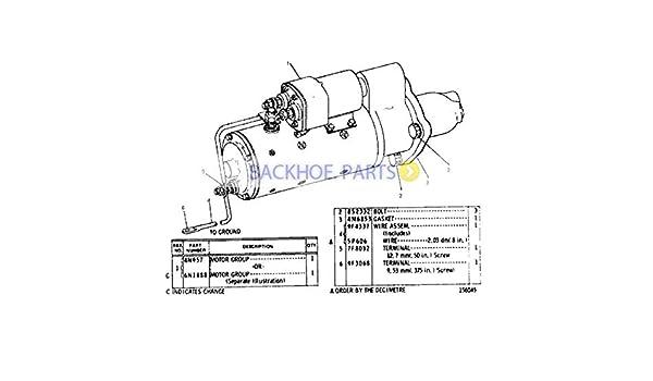 Amazon.com: For Caterpillar Loader CAT 980C 983B 980F Engine 3406 Starter  Motor 4N-1062 4N1062: AutomotiveAmazon.com