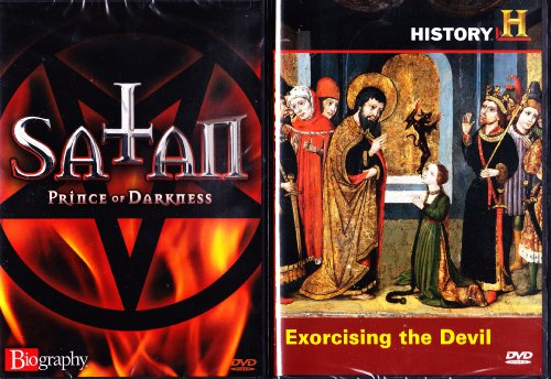 The History Channel : History's Mysteries: Exorcising the Devil , Biography Satan Prince of Darkness : Satanic 2 Pack -