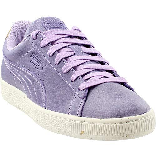 (PUMA - Mens Suede Deco Shoes, Size: 8.5 D(M) US, Color: Purple Rose/Golden Brown )