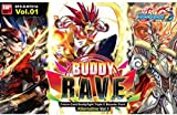 Buddy Fight RAVE Alternative V1 Booster Box - 30 packs English cards BFE-D-BT01A