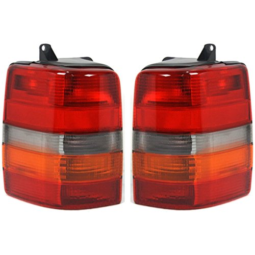 Fits 93-98 Jeep GRAND CHEROKEE Tail Lamp/Light Right & Left - Cherokee Tail 98 Grand Jeep