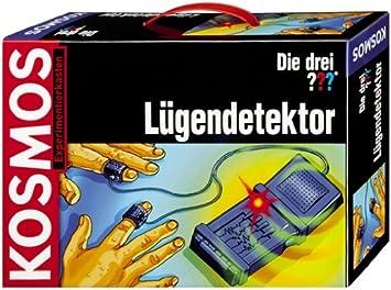 KOSMOS 631321 - Polígrafo Detector de mentiras [Importado de Alemania]: Amazon.es: Juguetes y juegos