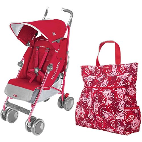 Maclaren Techno XT Stroller With Smart Sets - Persian Ros...
