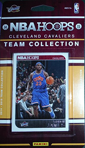 Cleveland Cavaliers Brand New 2014 2015 Hoops Basketball Factory Sealed 8 Card NBA Licensed Team Set Featuring Lebron James