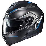 HJC Unisex-Adult flip-up-Helmet-Style is-MAX II Dova (MC-2SF, Large)