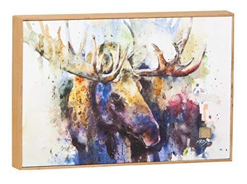 - Demdaco Big Sky Carver Marsh Bull Moose Wall Art (B5050140)