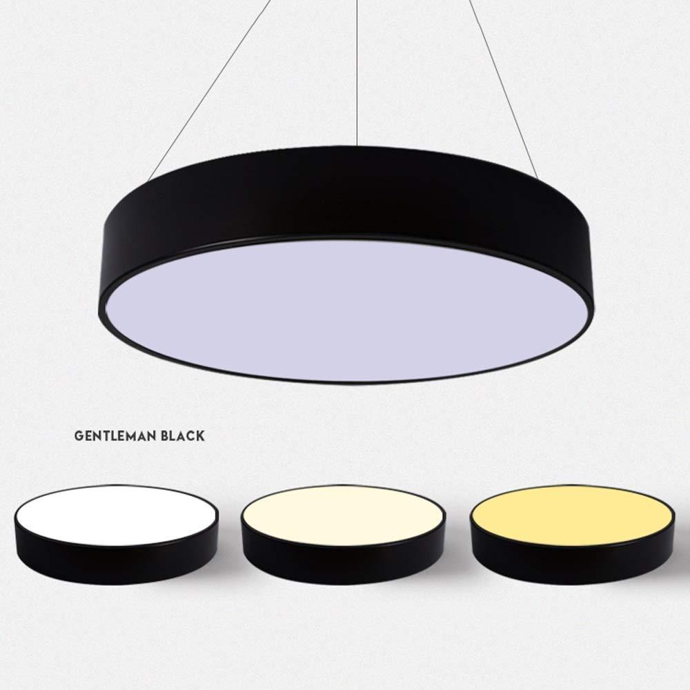 Amazon.com: Lámpara de techo LED para oficina, redonda ...