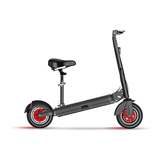 zdw Scooter eléctrico de 500 vatios para adultos, batería de ...