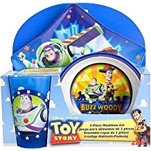 Disney / Pixar Toy Story 3-Piece Mealtime Set (Plate, Bowl and Tumbler) by Zak!