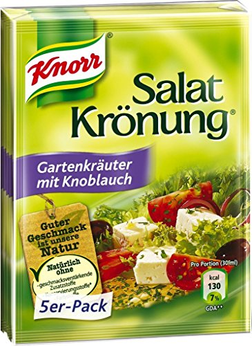 (Knorr Garden Herbs with Garlic Salad Dressing - 5 Pcs )