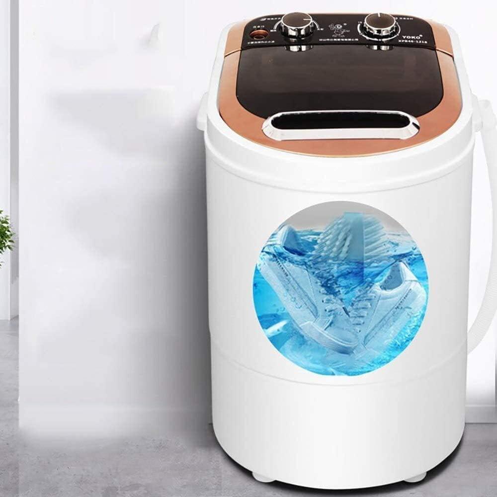 LAZNG - Mini lavadora portátil con rotación inteligente, botón de encendido y apagado fácil para una limpieza profunda, ahorro de esfuerzo, esterilización Blu-Ray para apartamentos, regalos de Navidad