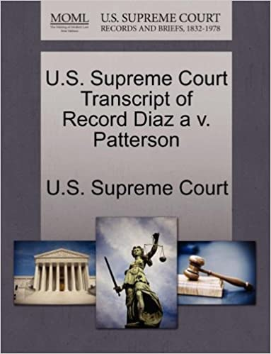 U.S. Supreme Court Transcript of Record Diaz a v. Patterson