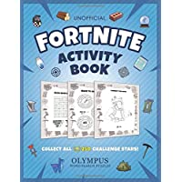 Fortnite Activity Book: Collect All 250 Challenge Stars!