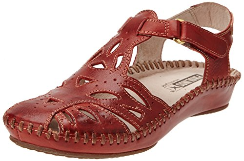 Pikolinos P. Vallarta 655, Damen Sandalen Rot - Rouge (Sandia)