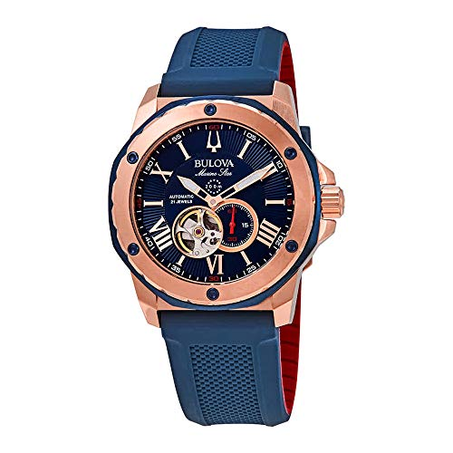 Men's Bulova Marine Star Automatic Blue Dial Watch ()