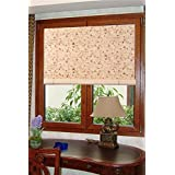 "Natural Bamboo Roll Up Window Blind Sun Shade WB-BCT001 (W42"" X H72"")"
