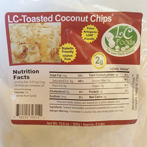 Keto Foods And Snacks, Unsweetened Toasted Coconut Chips + Chocolate Almond & Toasted Coconut Snack Packs by LC Foods, Atkins Diet, Gluten Free Treats For Kids & Adults by LC-Foods (Image #2)