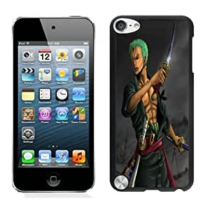 Popular Designed Case With roronoa zoro one piece sword Cover Case For iPod Touch 5th Black Phone Case CR-531