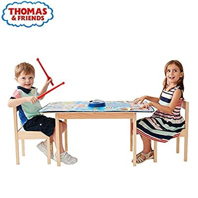 Dancing Mat- 2 in 1 Music Mat with Piano and Drum Set Instrument-Play Record function by Thomas & Friends