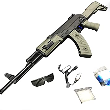 SHUNDATONG Toy Gun Small Moon Tactical AK47 Gel Ball Blaster Water