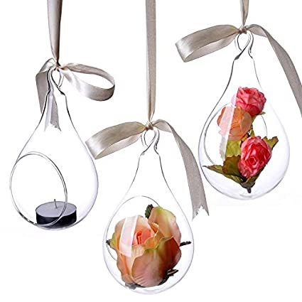 Amazon Funnytoday365 Surelife Style Hanging Glass Vase Ceiling
