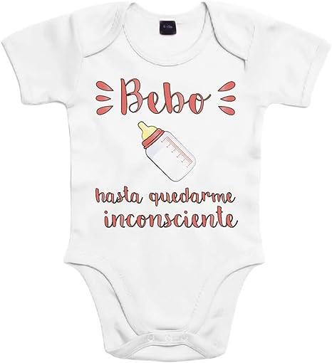 SUPERMOLON Body bebé algodón bebo 3 meses Blanco Manga corta ...