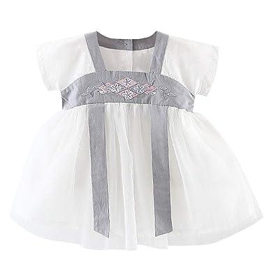 Amazon.com: Hstore - Ropa de bebé, falda de Hanfu para ...