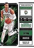 2018-19 Panini Contenders Draft Picks Basketball Season Ticket #23 Jayson Tatum Boston Celtics Official NBA Trading Card